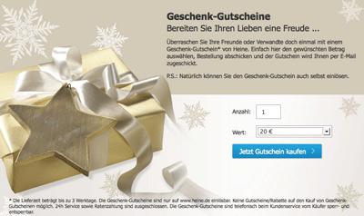 Heine Gutschein Heine Aktionscode